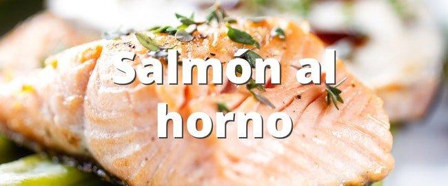 Receta fácil de Salmón al horno